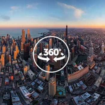 Scroll around in 360 to explore the scene in the video for a full experience