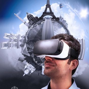 Insert your phone into your VR headset for a fully immersive VR experience.